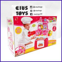 MAINAN MASAK MASAKAN COOK HAPPY KITCHEN PLAY SET MURAH