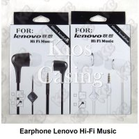 Earphone Lenovo Hi-Fi Music Headphone Headset Handsfree
