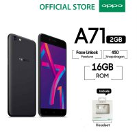 OPPO A71 New 2018 2GB/16GB Snapdragon - Black