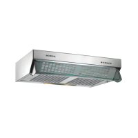 MODENA SX-6001 S Slim Cooker Hood Forte Series - Stainless and Grey - FREE DELIVERY JABODETABEK