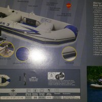 perahu karet Intex mariner 3set