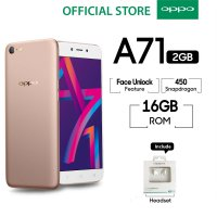 OPPO A71 New 2018 2GB/16GB Snapdragon - Gold