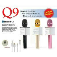 Mic wireless bluetooth karaoke player Q9