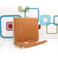 DJ Fashion The Elegant Woman Bag - Brown