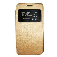 Gea Flip Cover Samsung Galaxy Young 2 G130 - Gold