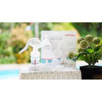 LITTLE BABY Manual Breast Pump / Pompa ASI Breastpump 2in1 Comfortable