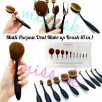 KUAS Bobbi Brown Multipurpose Oval Make Up Brush 10 in 1