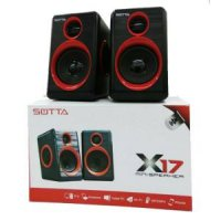Speaker Aktif Sotta X17 2.0 Multimedia Speaker - Power Usb