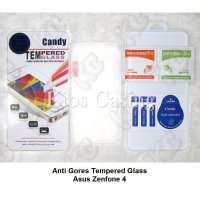 Asus Zenfone 4 - Anti Gores Tempered Glass Screen Guard Protector Pelindung Layar