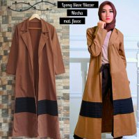 Long Sleeve Mocca Blazer Fleece