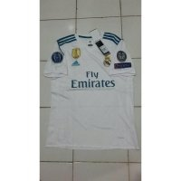 JERSEY REAL MADRID HOME 2017/2018 PACTH CHAMPION