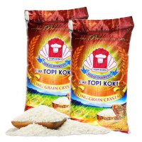 Beras Long Grain Topi Koki 10 Kg - Rice