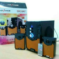 Speaker Subwoofer Bluetooth ADVANCE M310BT+ (Support Flashdisk, BT)