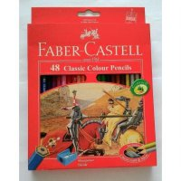 Pensil warna classic color Faber castell 48 warna