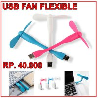 Fan USB Flexible (Kipas Mini USB Flexible)