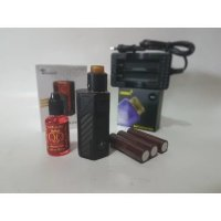 PAKET NGEBUL SUPER AUTHENTIC TESLA INVADER 2/3 KIT RDA VAPE LENGKAP