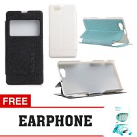Flip Cover Sony Xperia Z1 Mini / Compact Kalaideng Leather Case Iceland 2 Series FREE EARPHONE