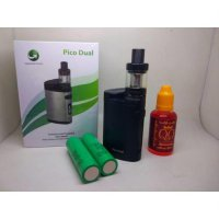 PAKET NGEBUL VAPE AUTHENTIC ELEAF PICO DUAL BATERAI 200 WATT