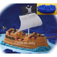 Cetakan Kue /Puding PIRATE SHIP