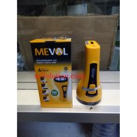 Meval Rechargeable 3W LED Handy Torch Lamp