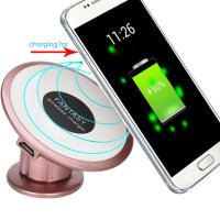 Qi Wireless Car Charger Transmitter Holder Fast Charging For For Samsung S7 Edge