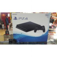 Ps4 Slim Jet Black 500gb New Model Cuh 2006 (Garansi Sony 1 tahun)