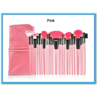 (Kuas Make Up) DOMPET PINK Make Up for You Brush Set isi 24pc ( Kuas