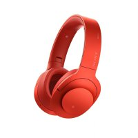 Sony h.ear on Wireless Noice Cancelling Headphone MDR-100ABN - Cinnabar Red