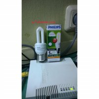 Lampu Philips Essential 5W Kuning (Warm White)