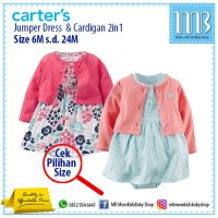 [Murah] Jumper Carter Dress set 2in1 for Baby Girl