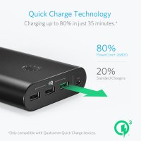Powerbank ANKER PowerCore+ 26800mAh Quick Charge 3.0 -A1374011-(RESMI)
