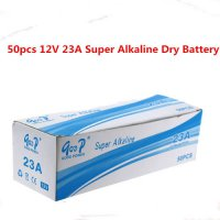 [globalbuy] 50pcs 12V 23A Super Alkaline Dry Battery 12V A23 Battery for Doorbell,car alar/3692221