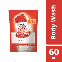 LIFEBUOY SABUN CAIR TOTAL 10 REFILL 60ML