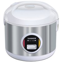 Rice Cooker SANKEN Rice Cooker Stainless 2 Liter SJ-3030WH