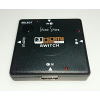 HDMI Switcher 3 Port to 1/Splitter