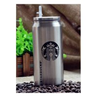 Starbucks Tumbler Bottles With Straw 2016 Edition Silver