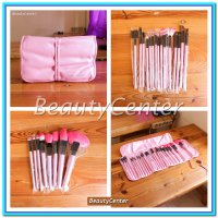 (Kuas Make Up) Kuas Set Make Up For You Pink / 24pcs / Brush Set /
