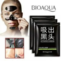 Bioaqua Activated Carbon Black Mask Masker Penghilang Komedo