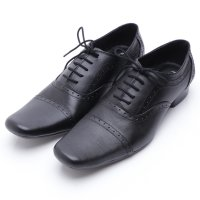 Dr.Kevin Genuine Leather Shoes 83152 Black
