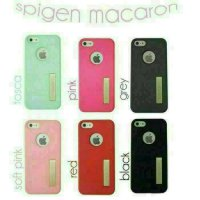 SOFTCASE SPIGEN MACARON OPPO NEO 9 / A37 WITH KICK STAND