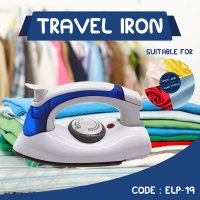Setrika Uap Lipat Portable Hetian - Soarin 2in1 Travel Iron Steamer - ELP-19