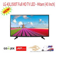 LG 43 Inch LED TV 43LJ500T - Full HD - Hitam-Promo