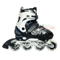Sepatu Roda COUGAR Power King White/Black Recreational Inline Skate