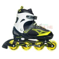 Sepatu Roda COUGAR Power G4 Yellow/Black Recreational Inline Skate