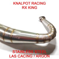 Knalpot Racing RX King RXZ RXS RXKing 3v3 Kolong Telo 2tak Stainless