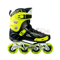 Sepatu Roda FREESTYLE FRSE One Slalom Inline Skate - Black Green