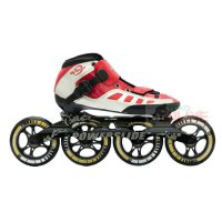 Sepatu Roda Power Slide My Speed Infinity Speed Inline Skate - Red/Black