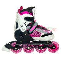 Sepatu Roda LYNX R55 Pink/Black Recreational Inline Skate