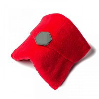 Portable Unisex Super Soft Neck Support Travel Pillow Red