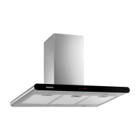 PROMO CHIMNEY HOOD-WALL MODENA CX-9107 (90CM)